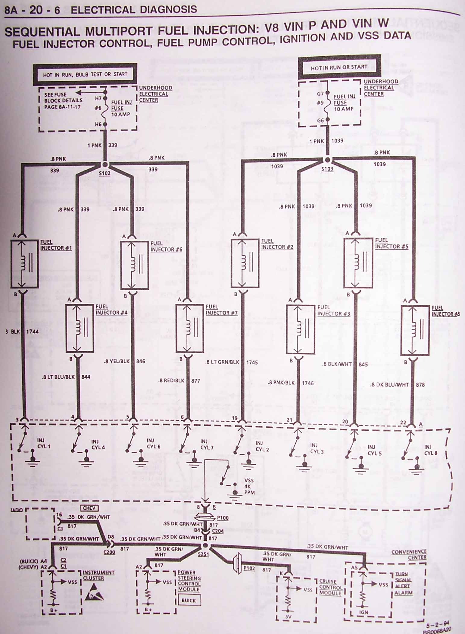 1995 Lt1 Wiring Harness Labeled Control Diagram Engine
