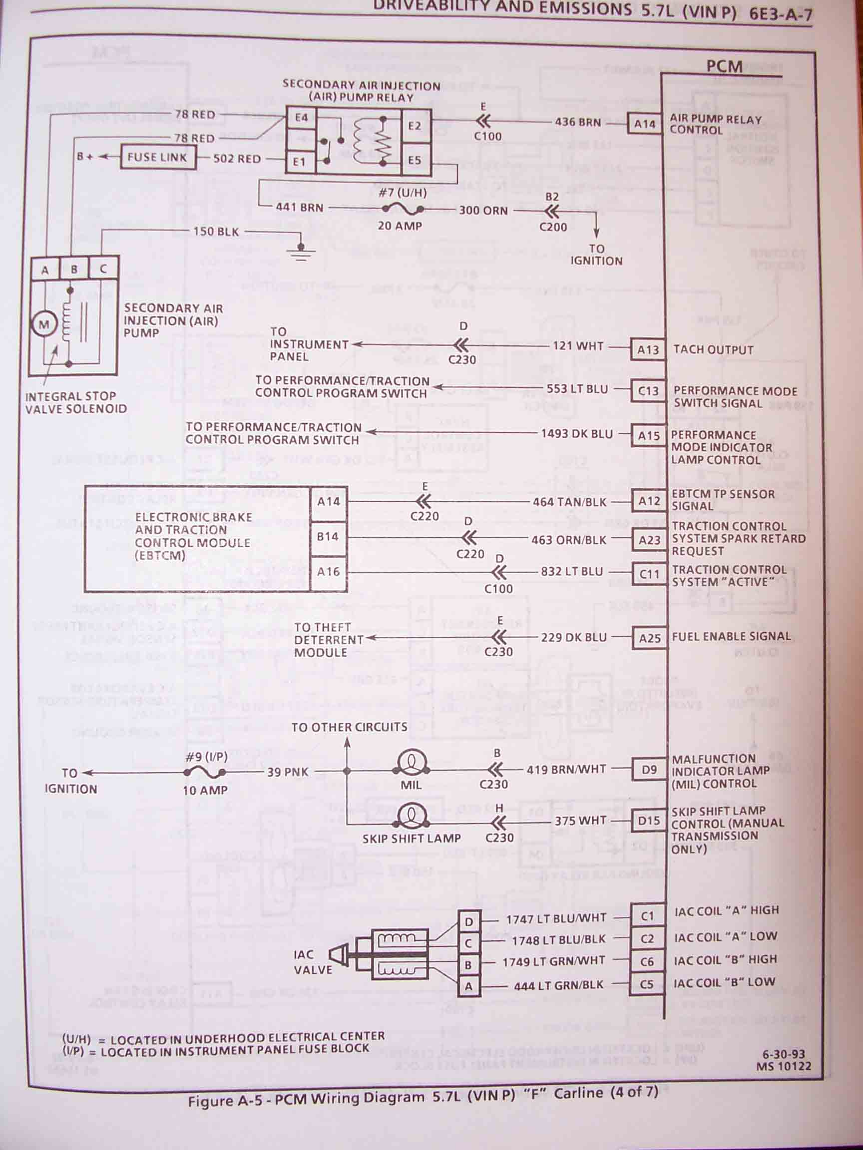 1995 F Body Wire Harness Schematics O2 Wiring Diagram 1994 These Are Specifically For Camaro Firebird 57l Lt1 However Will Be Very Similar To