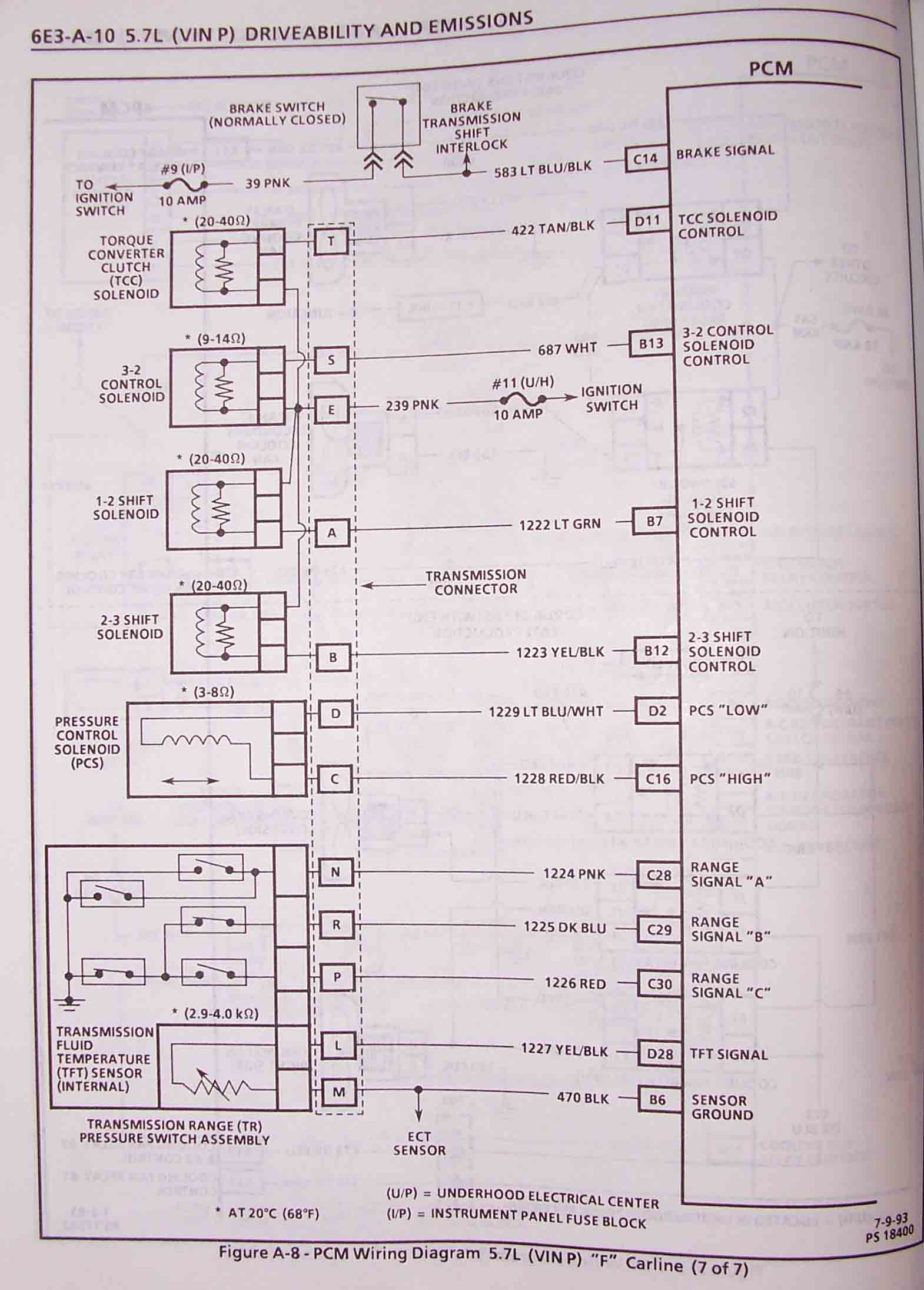 1995 F Body Wire Harness Schematics 1997 Camaro Fuse Box These Are Specifically For 1994 Firebird 57l Lt1 However Will Be Very Similar To