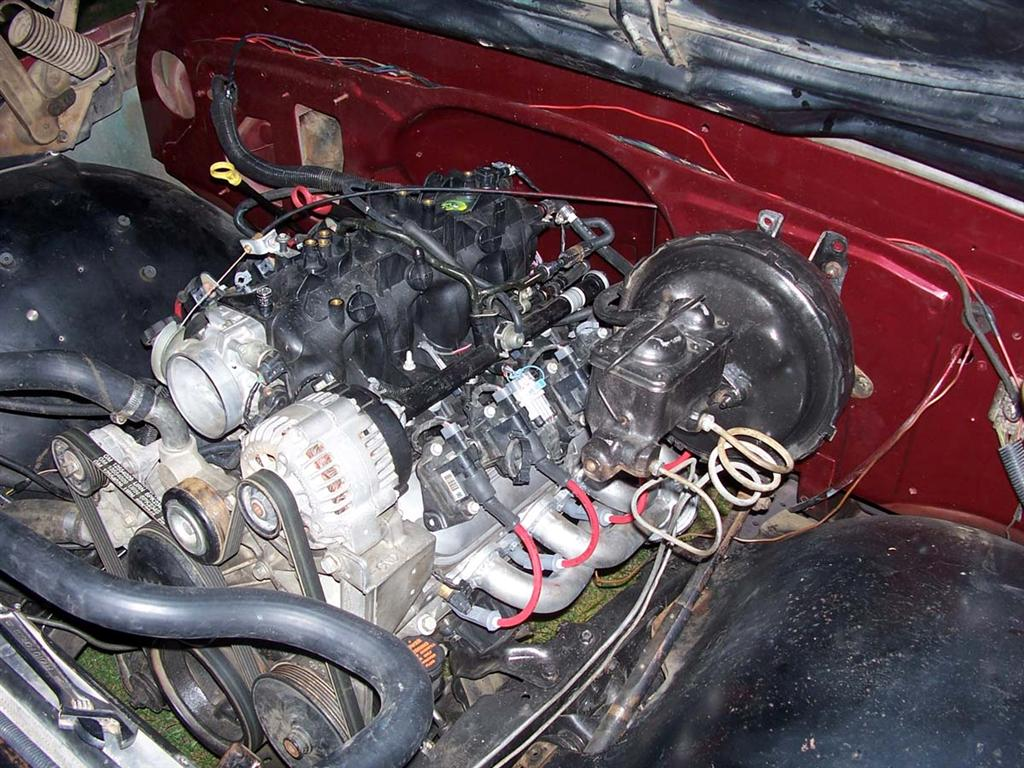 Vortec 48 53 60 Wiring Harness Info Chevrolet Fuse Box Diagram Zr2 2003 Injectors Are Turned Inward So Lays Flat Against Intake