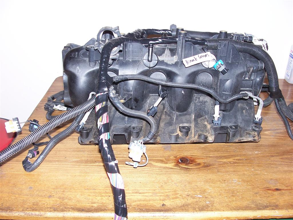 Vortec 48 53 60 Wiring Harness Info 2001 Gmc 6 0 Engine Diagram Injector Coil Connections Also Throttle Body And Alternator At Left Of Picture
